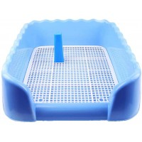 Mumoo Bear Pet Toilet Tray Pet Pad Floor Tray Keep Paws Dry Protect Floors,Easy to Clean and Use