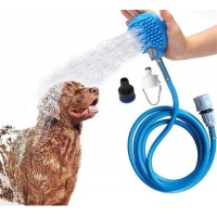 Mumoo Bear Pet Bathing Tools Pet Shower Kit 3 in 1 Adjustable Handheld Massage Shower Sprayer For Dogs and Cats