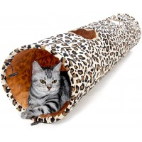 Mumoo Bear Cat Toys Collapsible Tunnel Dog Tube